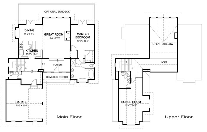 Jasper post and beam family cedar home plans cedar homes for Cedar home floor plans