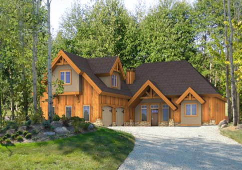 Jasper Post And Beam Family Cedar Home Plans Cedar Homes