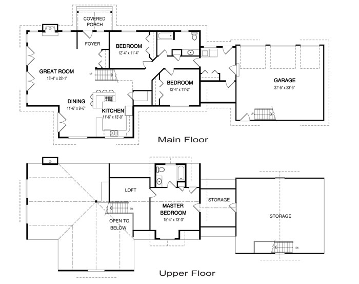 Archwood post and beam family cedar home plans cedar homes for Cedar home floor plans