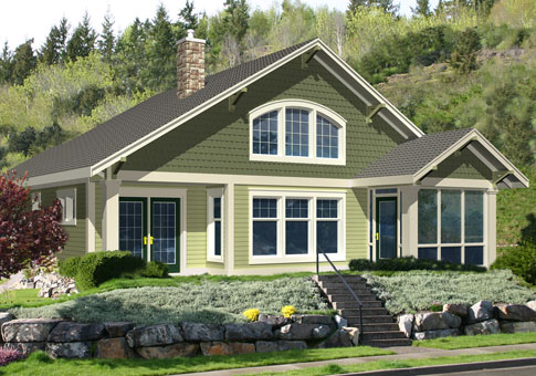 Barrett cedar homes architectural classic home plans for Classic cottage plans
