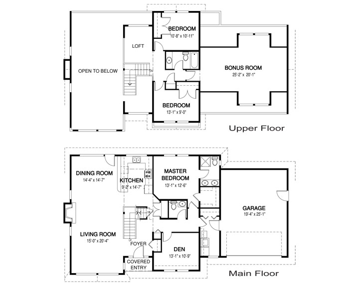 Cambridge architectural family cedar home plans cedar homes for Cedar home floor plans