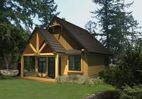 Cardinal Architectural Homes Cabin Garages Cedar Home
