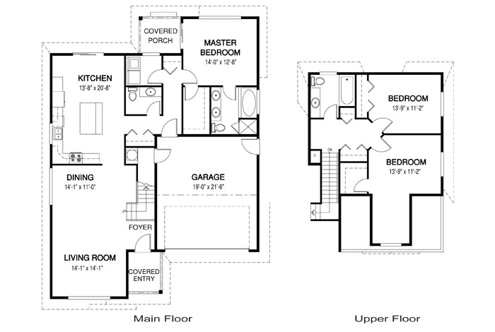 Carter architectural family cedar home plans cedar homes for Cedar home floor plans
