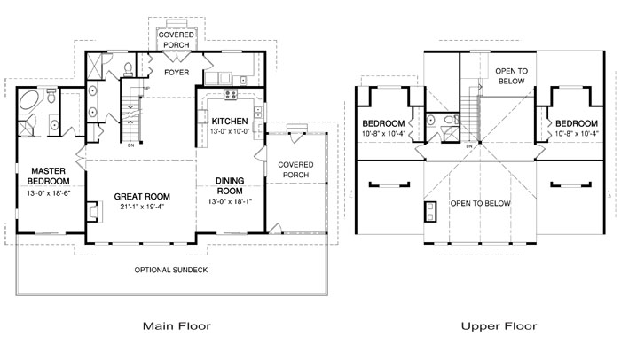 Cedarwood post and beam family cedar home plans cedar homes Cedar homes floor plans