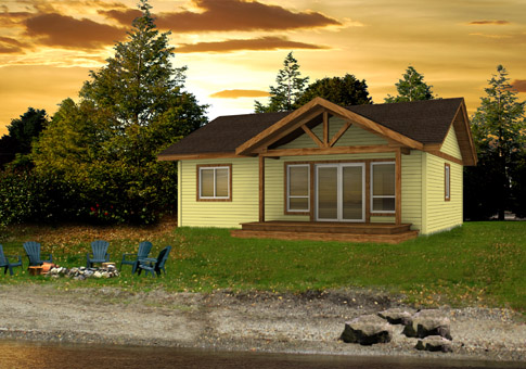 Chase architectural cabins garages cedar home plans for Cedar cabin plans
