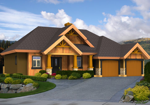 Clearbrook post and beam retreats cottages home plans for Post and beam cottage designs