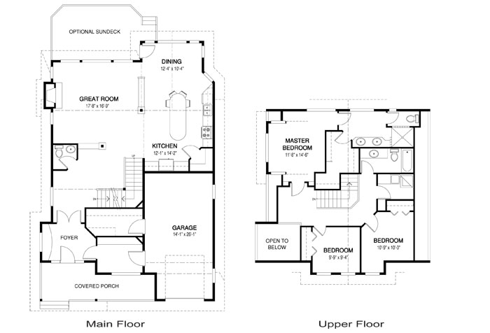 Denver post and beam retreats cottages home plans for Post and beam house plans floor plans