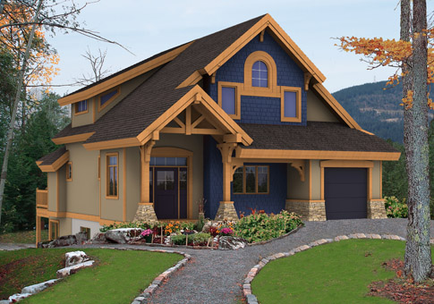 Denver Post And Beam Family Cedar Home Plans Cedar Homes