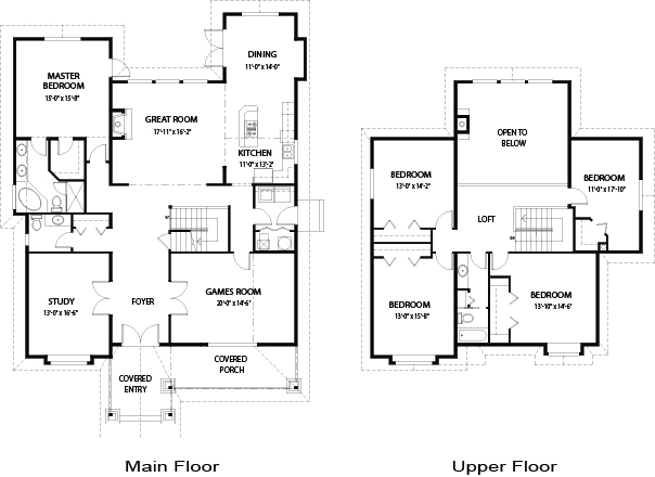 Dunbar architectural family cedar home plans cedar homes for Amazing floor plans