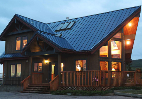 Fairmont post and beam retreats cottages home plans for Post and beam cottage designs