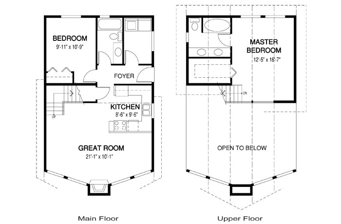 Gambier post and beam cabins garages cedar home plans for Post beam garage plans