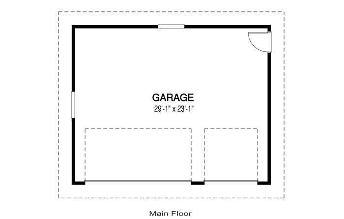 garage b architectural cabins garages cedar home plans On floor plan with garage