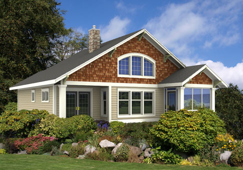 Gibson architectural cabins garages cedar home plans for Cedar home plans