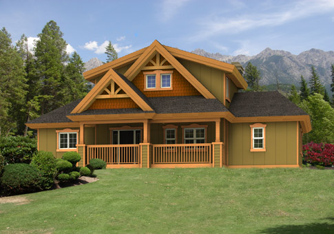 Glenbrook post and beam retreats cottages home plans for Maine post and beam kits