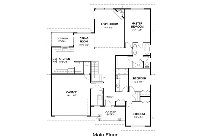 Hamilton architectural family cedar home plans cedar homes for Cedar home floor plans