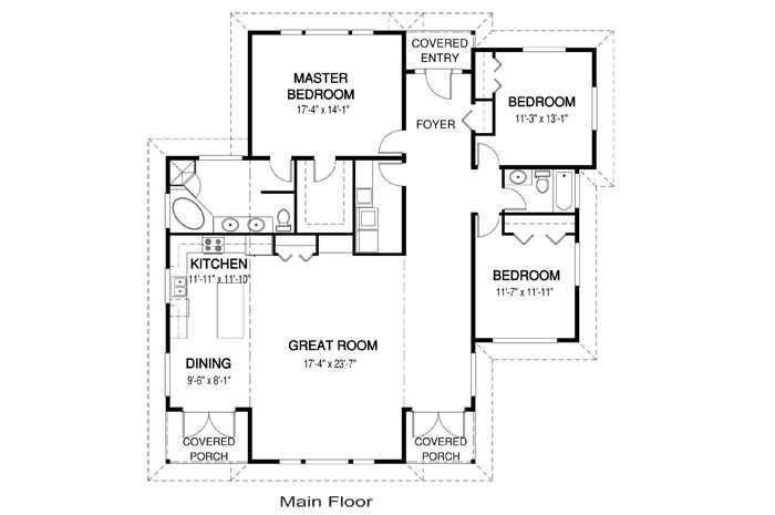 Hawthorne architectural family cedar home plans cedar homes Cedar homes floor plans