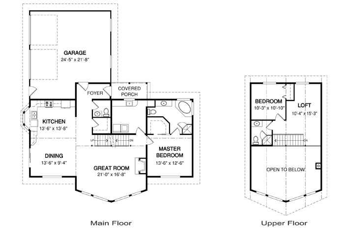 Homestead post and beam family cedar home plans cedar homes for Cedar home floor plans