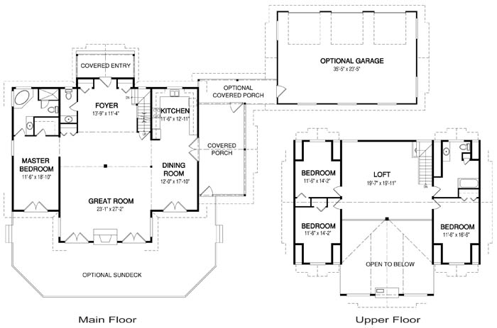 Islinda post and beam family cedar home plans cedar homes for Cedar home floor plans