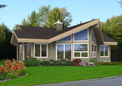 Kestrel Post And Beam Family Cedar Home Plans Cedar Homes