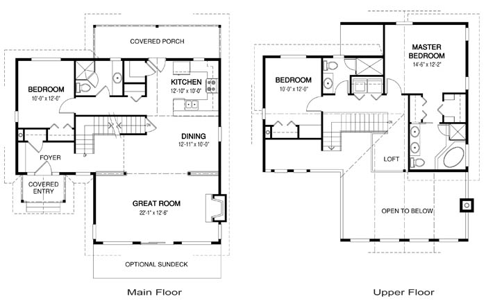 Lodgepole post and beam family cedar home plans cedar homes Cedar homes floor plans