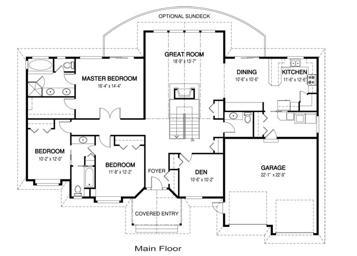 Lynden post and beam family cedar home plans cedar homes for Cedar home floor plans