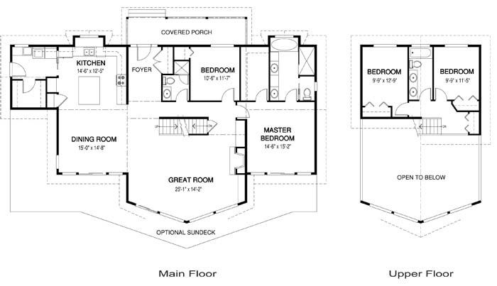 2 Family House Floor Plans