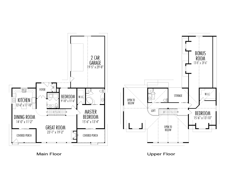 Morrison post and beam family cedar home plans cedar homes Cedar homes floor plans