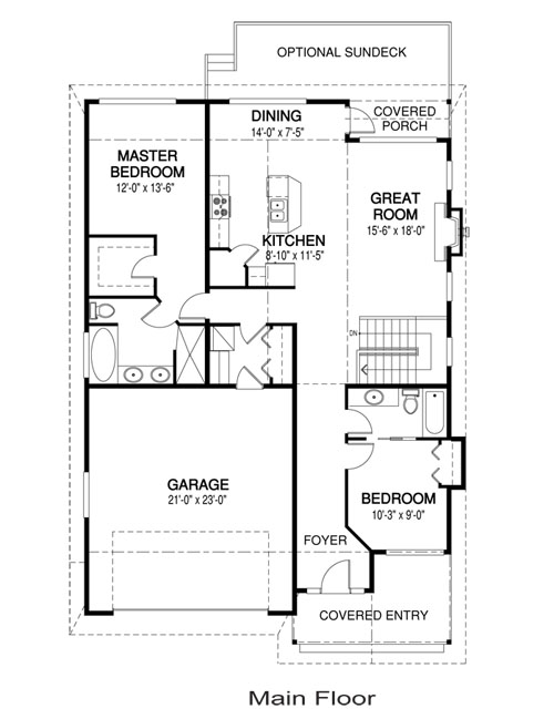 Osprey 2 post and beam family cedar home plans cedar homes for Post and beam house plans floor plans