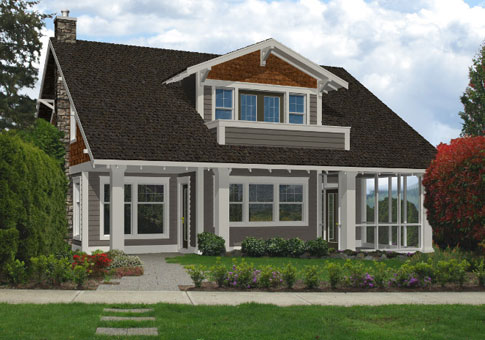 Prentice Architectural Top 20 Classic Cedar Home Plans