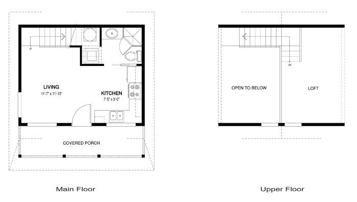 Puffin architectural family cedar home plans cedar homes Cedar homes floor plans