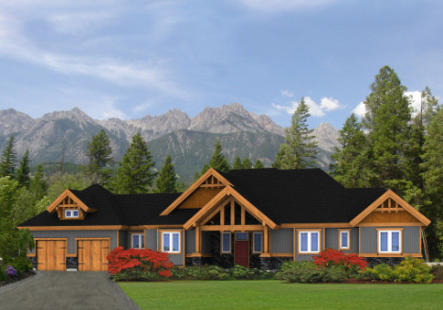 Qualicum Post And Beam Family Cedar Home Plans Cedar Homes