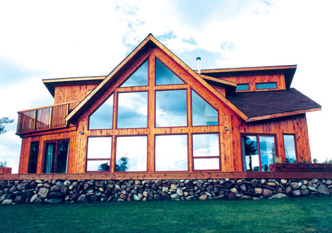 Tamarack Post and Beam Retreats & Cottages Home Plans