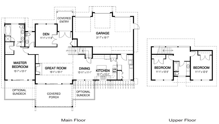 Tobiano post and beam family cedar home plans cedar homes for Cedar home floor plans