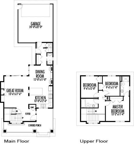 Wilkinson architectural family cedar home plans cedar homes for 30 feet wide house plans