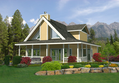 Willow Architectural Retreats & Cottages Cedar Home Plans