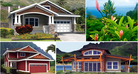 Hawaiian Post & Beam Homes