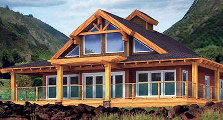 The Napili Cedar Custom Homes