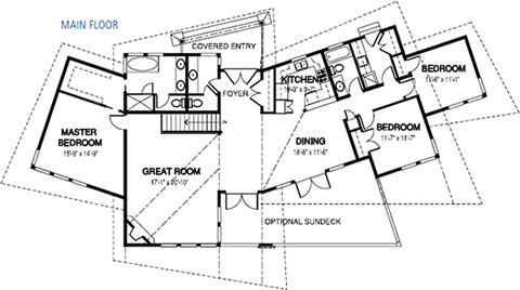 Discovery Floor Plan Custom Cedar Homes