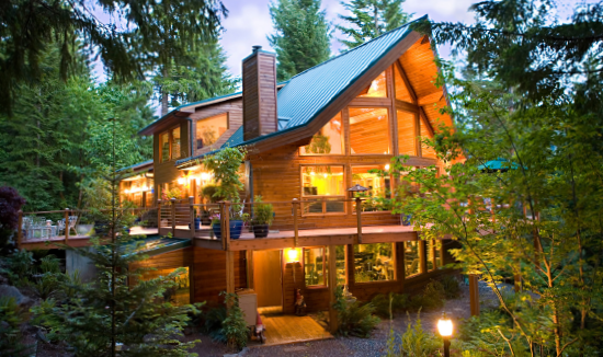 Cedar Home Plans of the Month - Blackcomb Cedar Homes