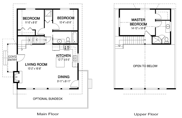 Cedar homes the sebright house plans custom cedar homes for Cedar home floor plans