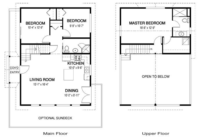 Cedar homes the deerbay plan of the month for Cedar home floor plans