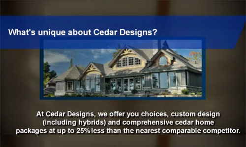 Cedar Homes FAQ Video