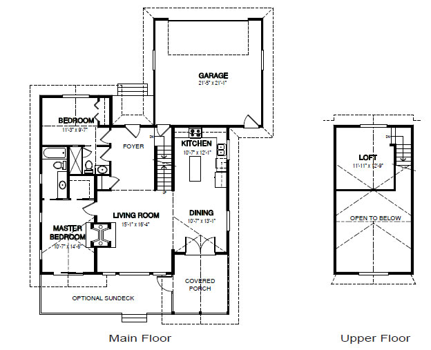 Birchcliff cedar home package custom cedar homes house for Cedar home floor plans