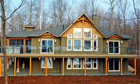 Mystic Point Cedar Home Plans Custom Cedar Homes House