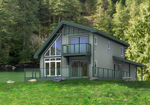 Apex Cedar Home Plan of Month