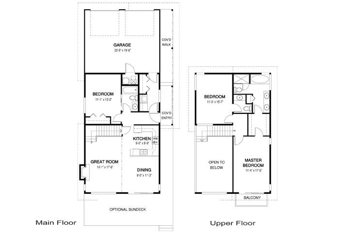 Apex cedar home plan of month custom cedar homes house for Cedar home floor plans