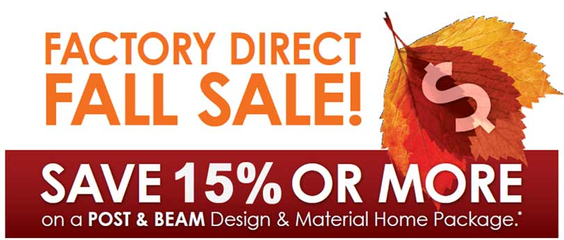 Post Beam Design Material Package Sale
