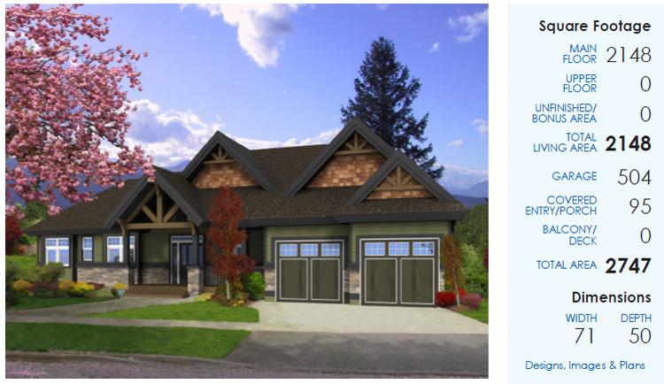 Cedar Homes Lynden Plan Of Month Custom Cedar Homes