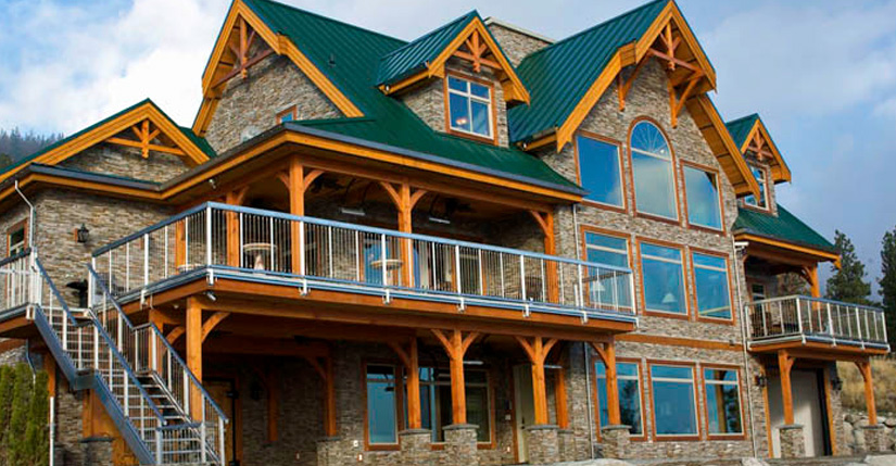 Cedar Homes Cansion Timber Frame Plan Month