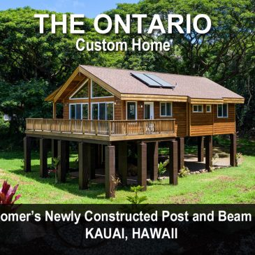 Cedar Homes Ontario Post Beam Cabin Plan Month